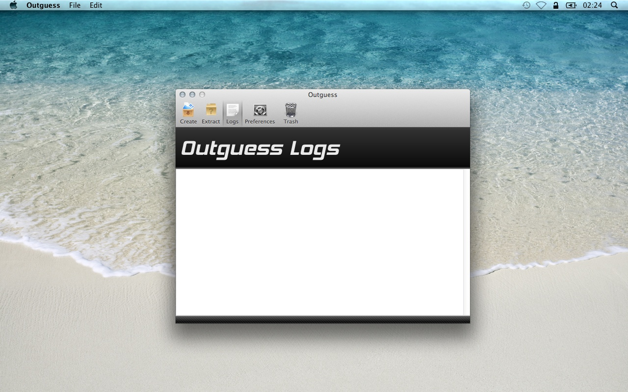 Outguess logs